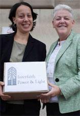 IPL Greater Washington's Joelle Novey  with new EPA administrator Gina McCarthy