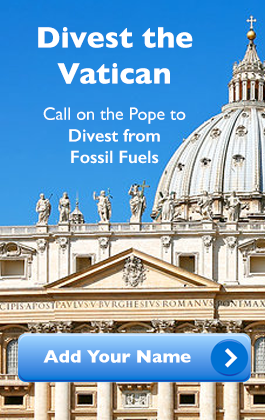 Add Your Name to Divest the Vatican Petition