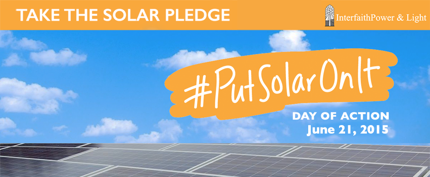 Take the Solar Pledge
