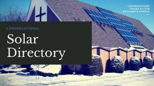 Congregational Solar Directory