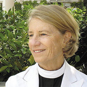 The Rev. Canon Sally G. Bingham, President Emeritus Founder, The Regeneration Project