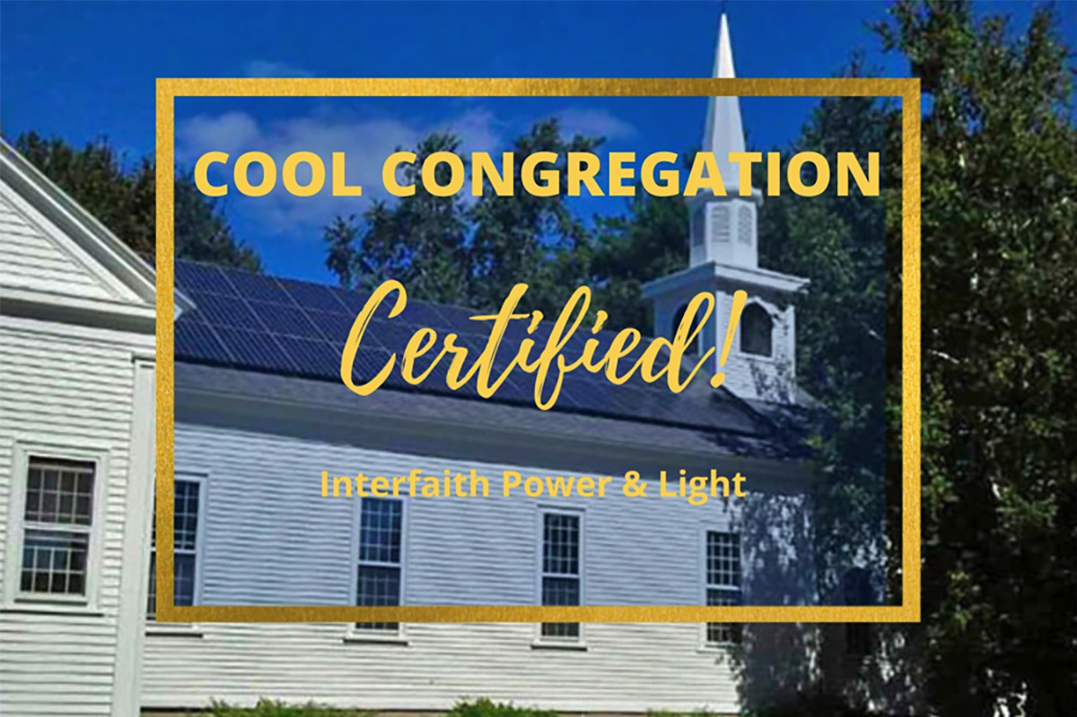 Certify your Solar Congregation as a Cool Congregation!